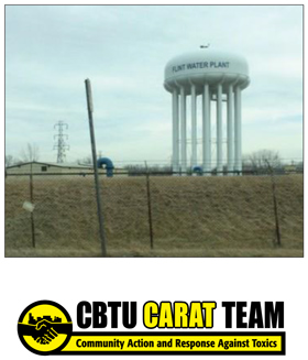 Flint Michigan, CBTU CARAT Team